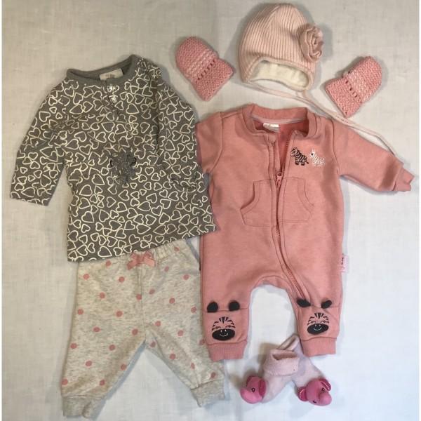 Baby-Bekleidung * 8 tlg Set * sportlich warm * Gr 50-56
