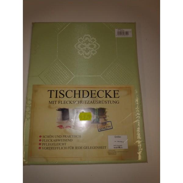 Tischdecke * hellgrün * 130*160cm * neu