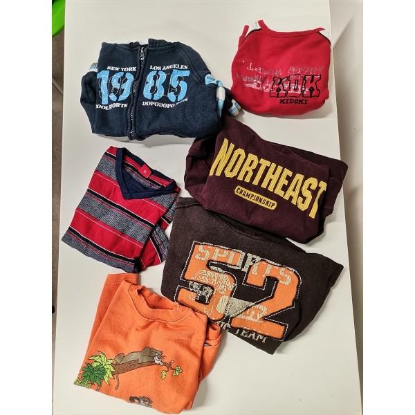 Bekleidungspaket für Jungs in Größe 104-110