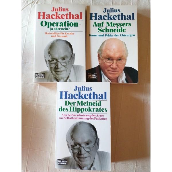 Julius Hackethal: Meineid, Chirurgie, Verschwörung, Kranke, Gesunde