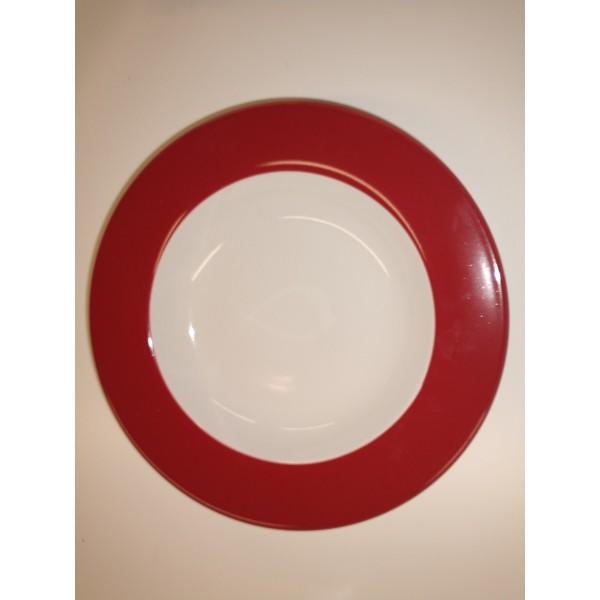 Teller * rot * groß tief * FLIRT * Ritzenhoff & Breker