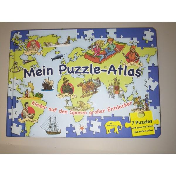 Mein Puzzle-Atlas * ab 4 Jahre * mit Geschichten