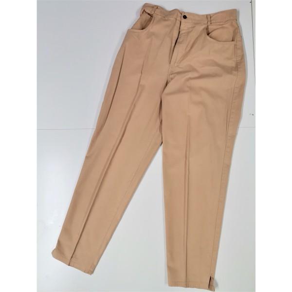 Hose für Damen * beige-braun * Gr 34/36