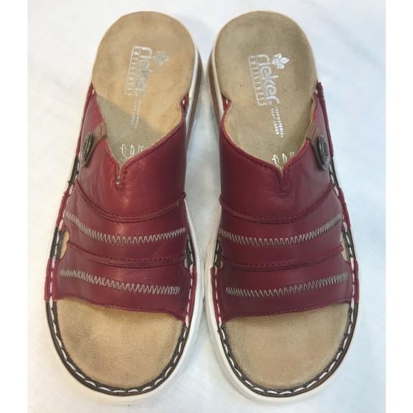 Sandale Latschen Schlappen * Riekers Antistress * Gr 39
