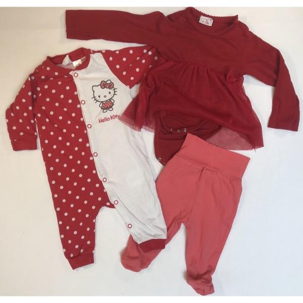 Baby-Bekleidung * 13 tlg * Gr 50-56 * Hello Kitty etc