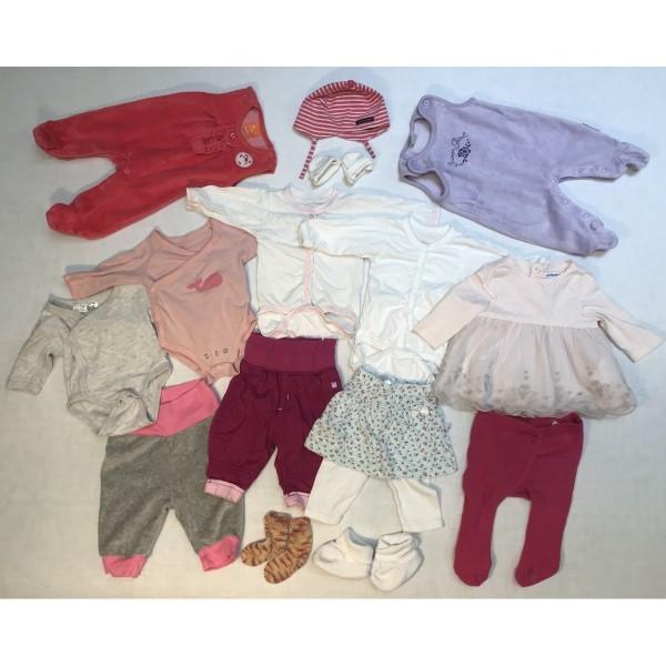 Baby-Bekleidung * 18 tlg Set * Mädchen * Sommer * Gr 50