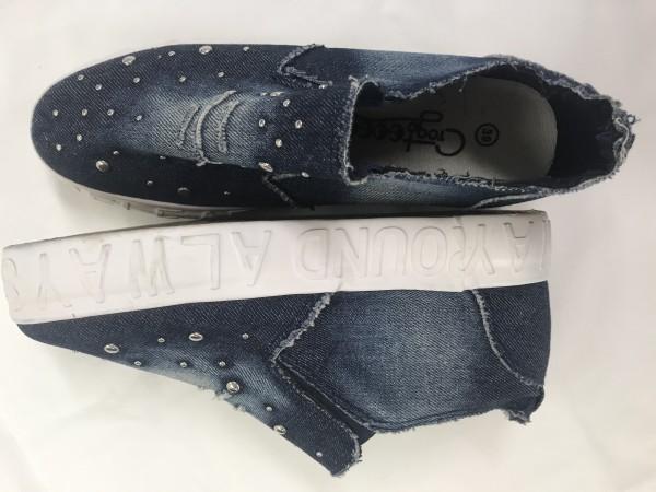 Jeans-Sneaker * Gr 39 * Crog to go go