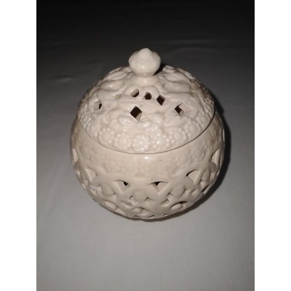 Porzellan * Kugel * Teelicht Duftöl * Duftlampe