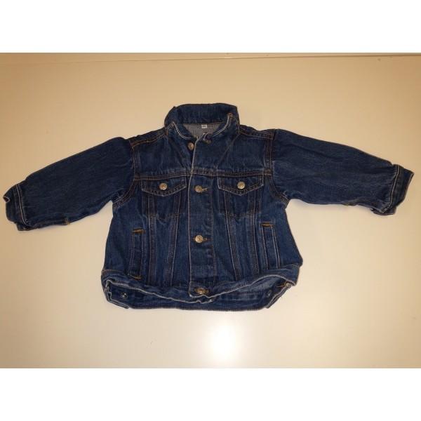 Jeans-Jacke für kleine Kinder * Gr. 68