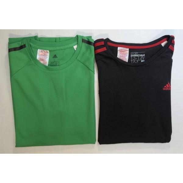 2er Set * Sport - Shirts * Adidas * Gr 164 * Schul-Sport