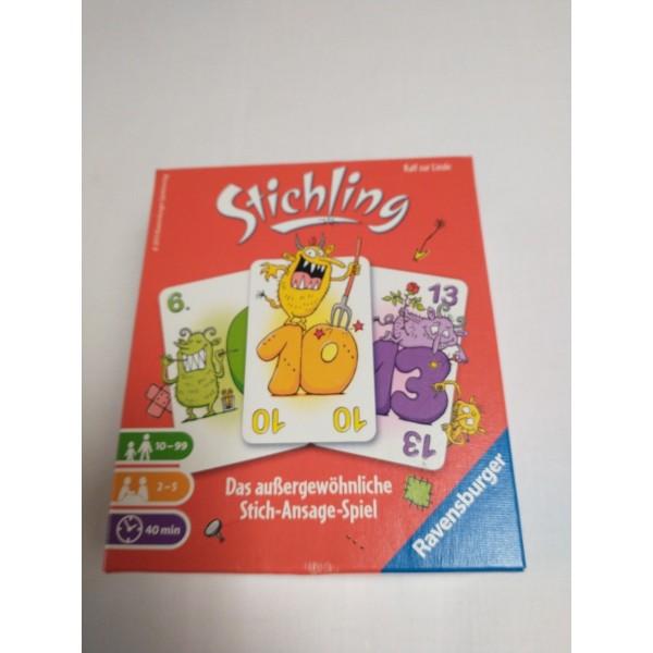 Ravensburger * Stichling * Kartenspiel * Stich- und Ansagespiel