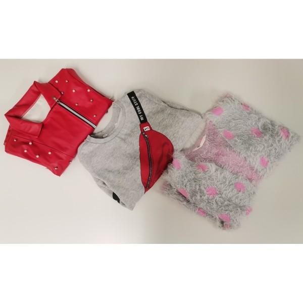Bekleidungspaket für Mädchen 104-110-116