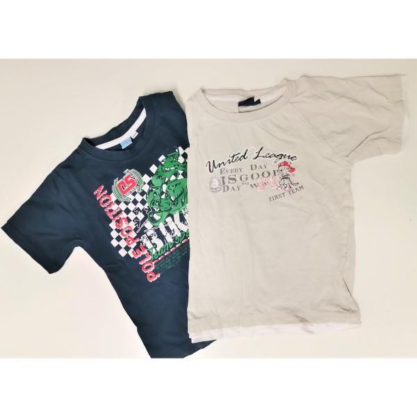 2 Shirts und 1 Hose für smarte Jungs in 110-116