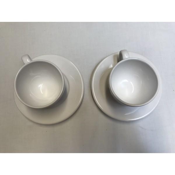 2er Set * Tasse und Untertasse * Carmarque by Marc B