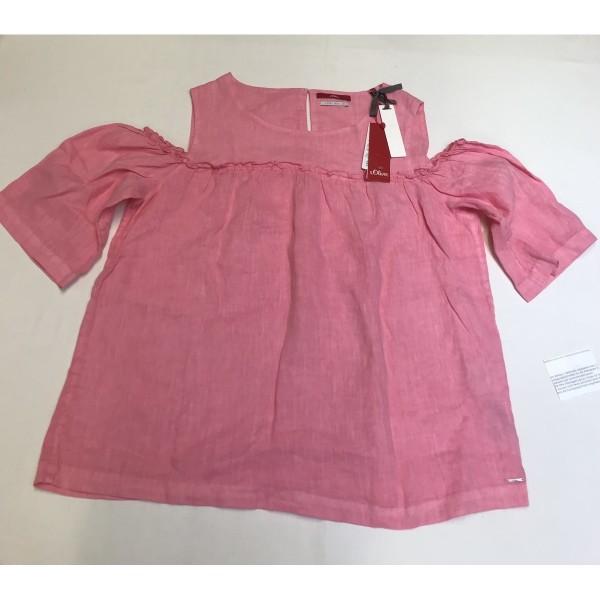 3/4-Arm- Bluse Tunika * s.Oliver * Gr 40 * rosa * NEUWARE