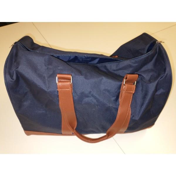 Reisetasche * Leder * marine * Neuware