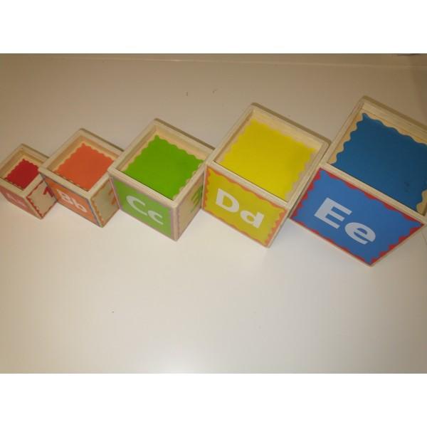 Hape E0413A E0413 - Stapelpyramide * Holz Spielzeug