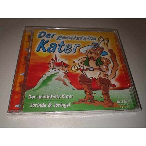2x Hörspiel - CD * Der gestiefelte Kater + Jorinde & Joringel