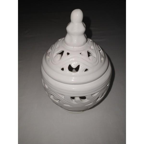 Porzellan * Aufbewahrung * Dose mit Deckel * Teelicht