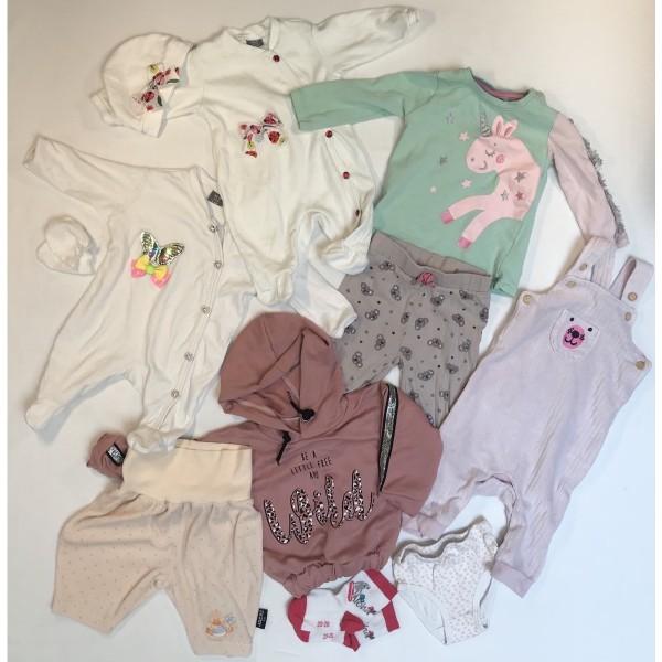 Baby-Bekleidung * 13 tlg * Gr 62-68 * Mädchen