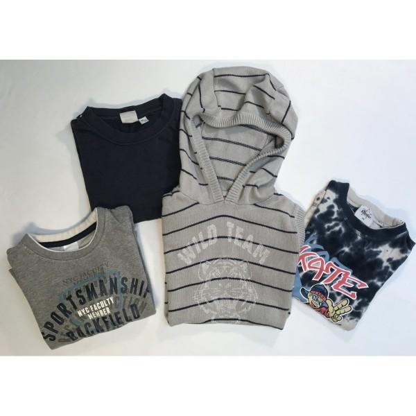 4 tlg. Set * sportlich * Shirts * Gr 110-116