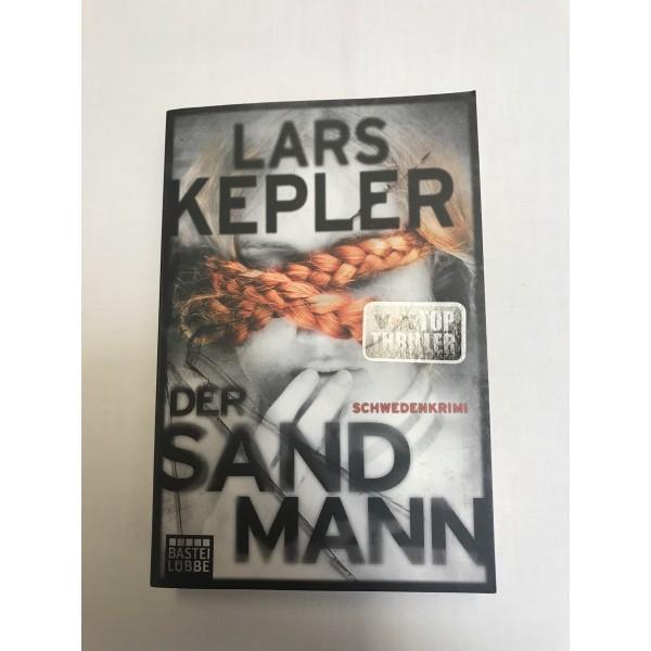 Lars Kepler * Der Sandmann * Vox-Top- Thriller