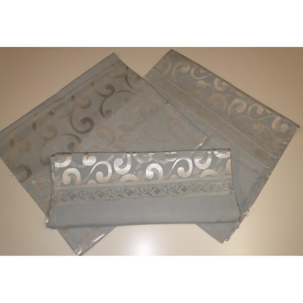 Tischläufer * grau-silber