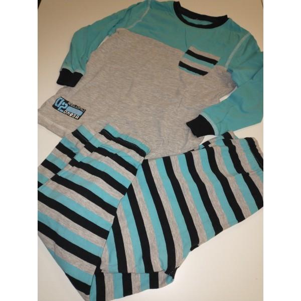 2 tlg Pyjama * Schlafanzug * Gr. 110-116 * Jungs