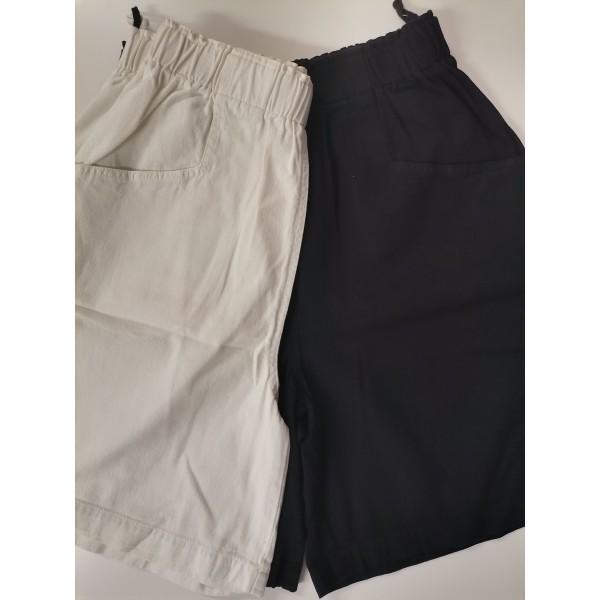 2x Shorts von Prego in Gr. 40 * weiß + schwarz