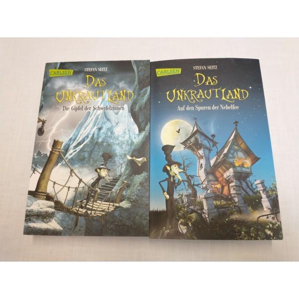 2 Bücher * Buchreihe* Das Unkrautland * Stefan Seitz