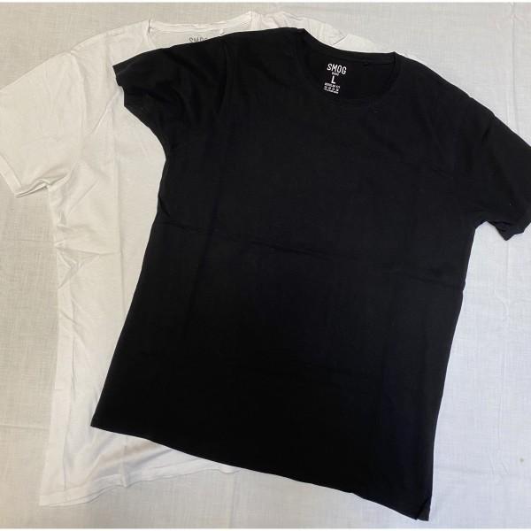 2er Set * T-Shirt * Smog * Gr. L