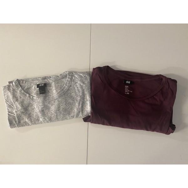 2er Set * T-Shirt * H&M * Gr. L